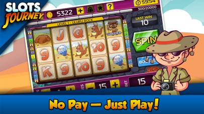Screenshots of Slots Journey for iPhone