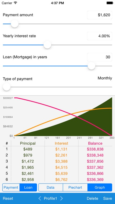Screenshot #10 for Loan Calculator - Quick Estimate of Your Loan and Mortgage: Principal, Interest and Loan Balance