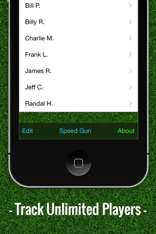 Baseball Stats Tracker Touch screenshot 4