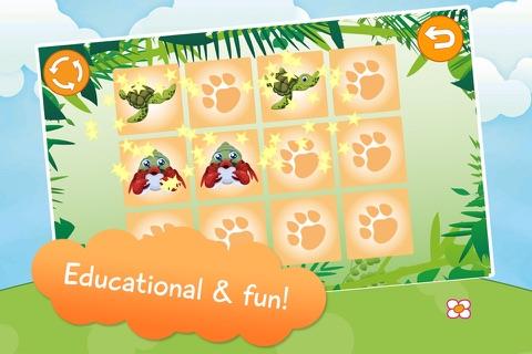 Kids Animals Memory Game screenshot 3