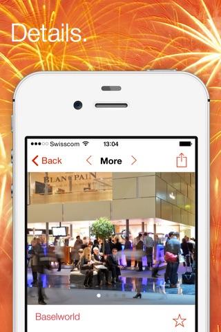 Swiss Events – the official event calendar from MySwitzerland.com screenshot 2