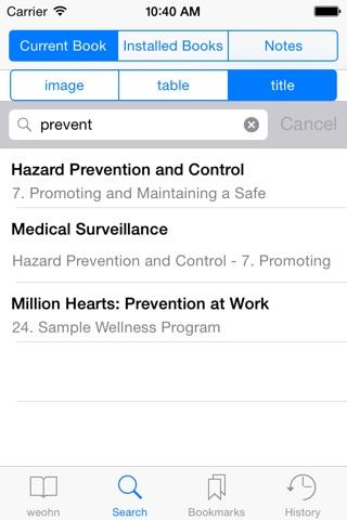 Essentials for Occupational Health Nursing screenshot 3
