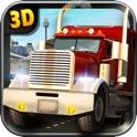 重型卡车模拟器 — — 驱动器你路拖车通过现实城市交通车辆在具有挑战性的游戏 icon