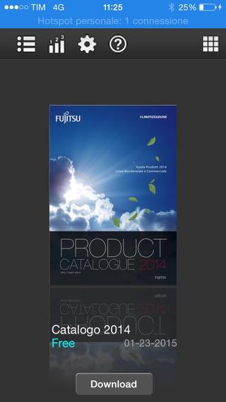 fujitsu climatizzatori italia app store