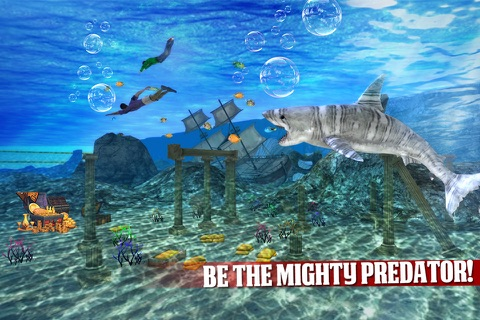 Angry Shark Revenge 3D screenshot 2