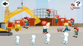 Screenshot of Attivo! Dimensionamento Gioco Per i Bambini Per Imparare e Giocare Con un Cantiere1