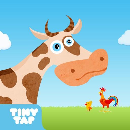 The Farm Animals - Kids learn farm animal sounds