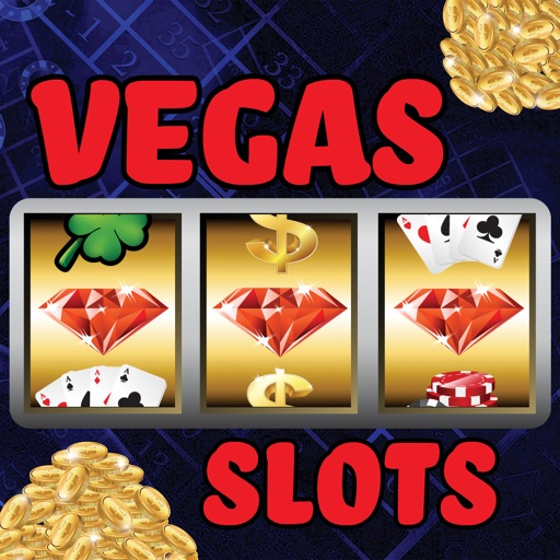 Amusement Vegas Slots - Astounding & fun Las Vegas slot machines with 30 lines big betting iOS App