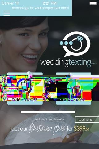 WeddingTexting.com screenshot 1