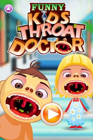 Funny Kid's Throat Doctor screenshot 1