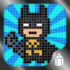 How to Draw Pixel Superheroes