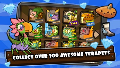 Screenshots of Terapets 2 - Monster Dragon Evolution for iPhone