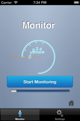 SnoreMonitor screenshot 1