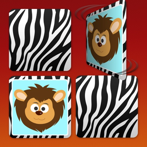 Play with Wild Life Safari Animals - Free ABC Memo Game for toddlers age 1 to 6 in preschool, daycare and the creche iOS App