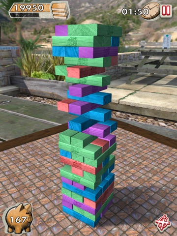 Screenshots of Jenga for iPad