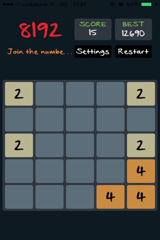 Addictive: Crazy Game 2048 Version screenshot 2