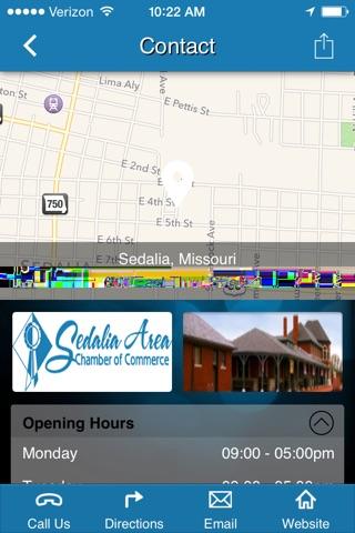 Sedalia Area Chamber of Commerce screenshot 2