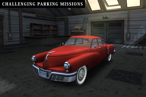 Classic Cars 3D Parking screenshot 4