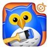 Mix 2 Color - Preschool Coloring Book to Learn Mixing Paint Colors (AppStore Link)