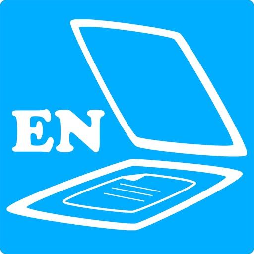 MultiScan-EN : Сканер, распознавание текста. Сохранение в текстовой формат и PDF высокого качества.