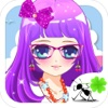 Shy Little Beauty - dress up game for girls