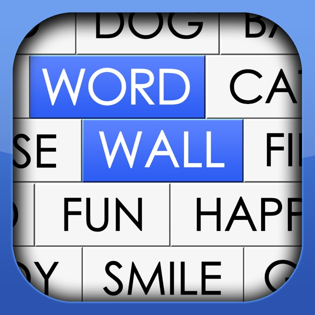 Word wall a challenging and fun word association brain for Picture on wall app
