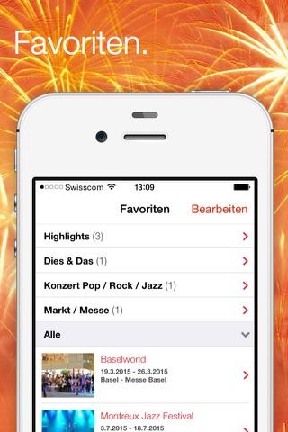 Swiss Events – the official event calendar from MySwitzerland.com screenshot 4