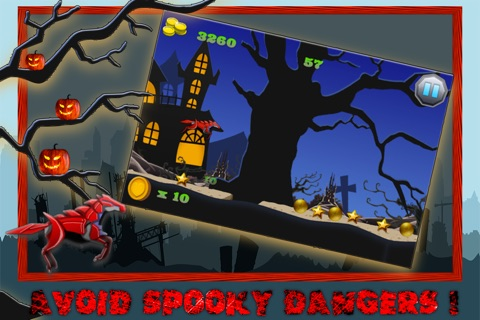 Unicorn Dash - Mythical Beast in Halloween City screenshot 2