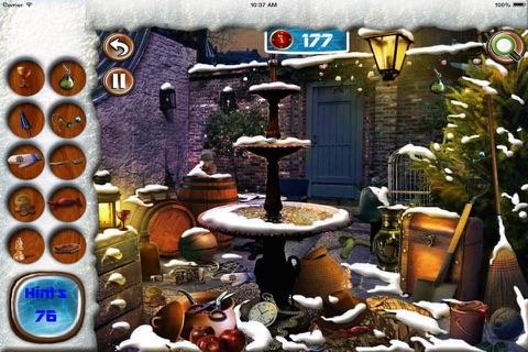 Winter Tale Hidden Objects screenshot 1