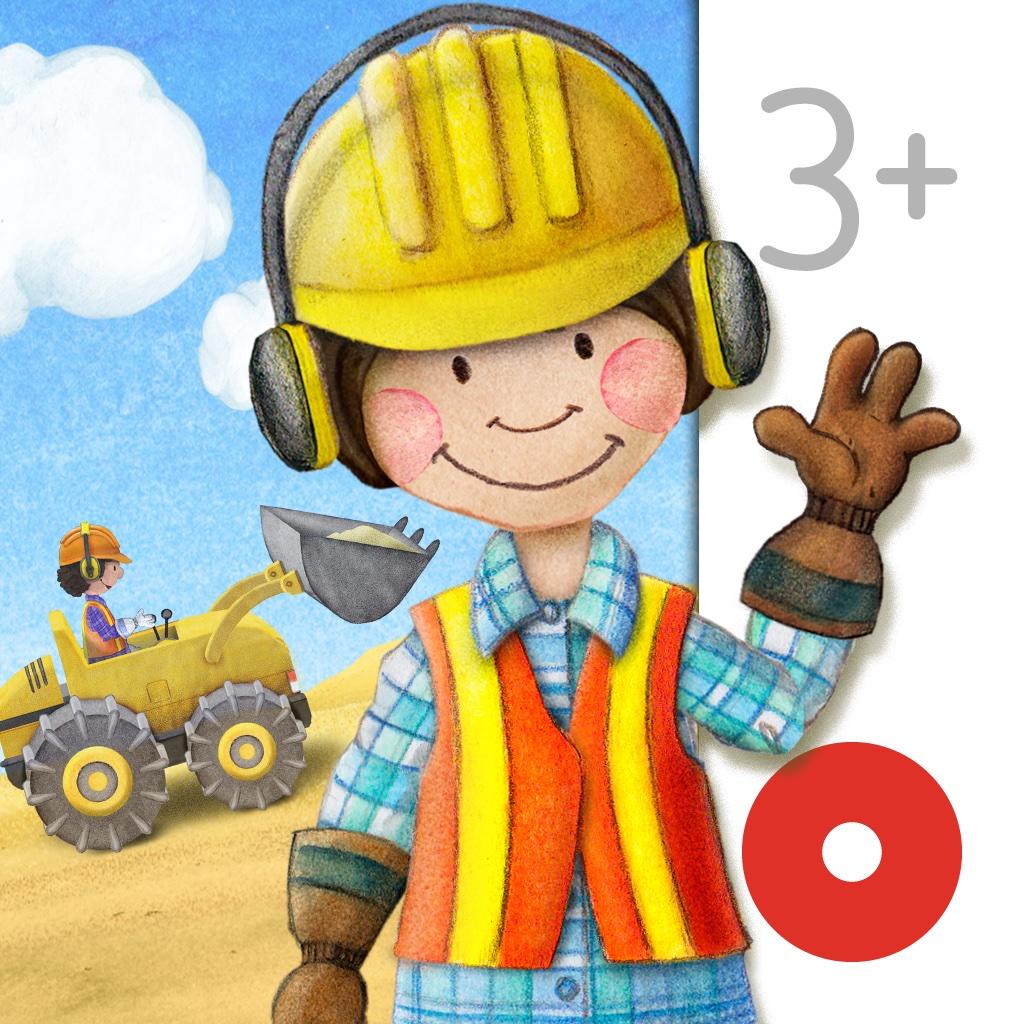 Tiny Builders - экскаватор, кран и самосвал для малышей!