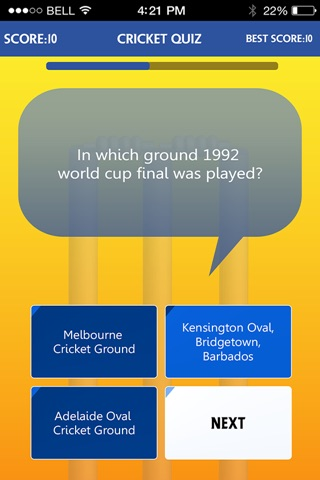 ICC Cricket World Cup Quiz - Guess Game screenshot 2