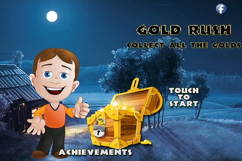 Gold Rush - Collect all the gold! screenshot 1