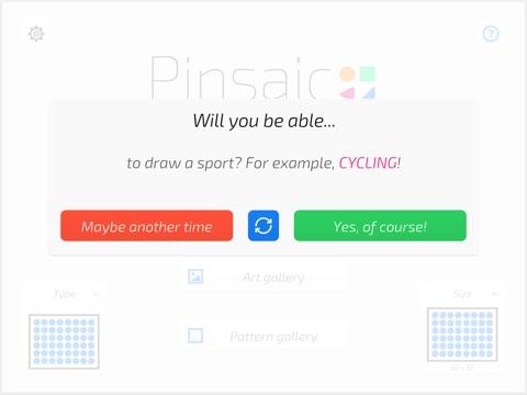 点阵作画 :Pinsaic