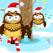 圣诞节儿童游戏: 学进行比较和排序