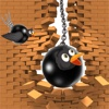 Iron Ball Brid Fly -  Fun Free Flappy Black ELF Adventure Game