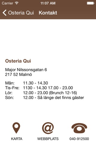 Osteria Qui screenshot 3