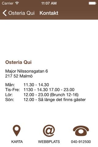 Osteria Qui screenshot 3