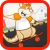 Rat on Skateboard jump Games - 儿童经典游戏