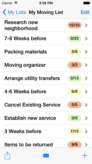 Moving Checklist Pro On The App Store