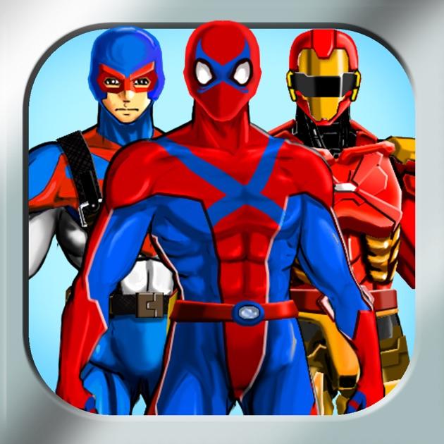Free Character Design App : Create your own superhero free hero character costume