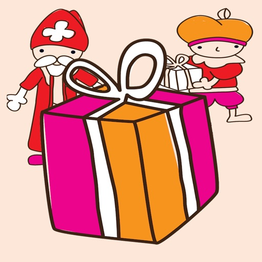 Piet and jumping Sinterklaas find presents for every child iOS App