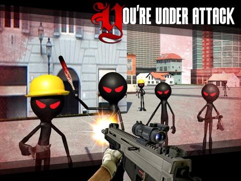 Screenshot #6 pour Stickman Shooter 3D