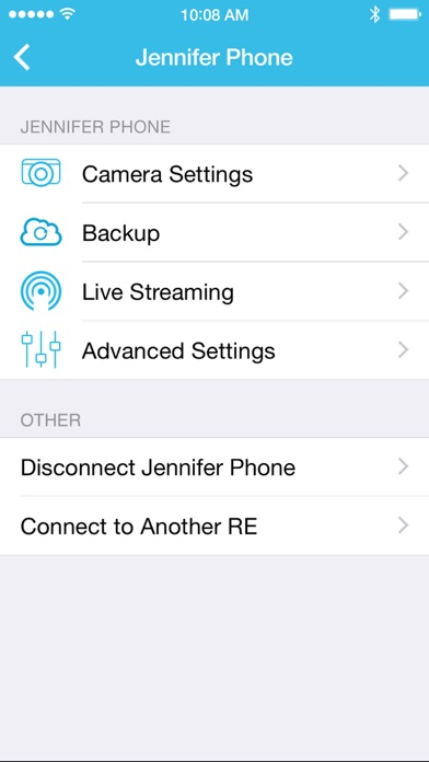 RE App Screenshot