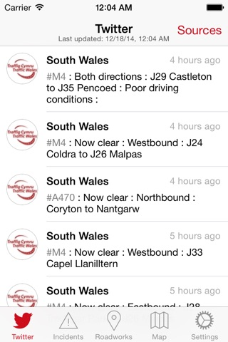 Traffic Wales screenshot 1