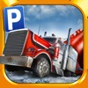 3D Ice Road Trucker Parking Simulator Game — Real Monster Truck Driving Test Car Park Sim Racing Games
