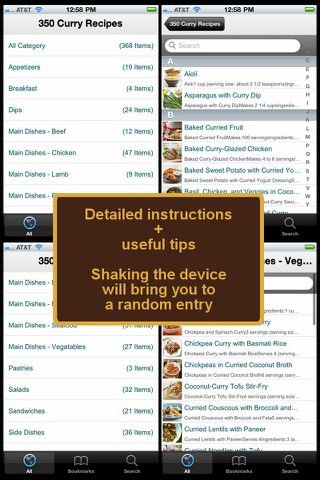 350 Curry Recipes screenshot 4