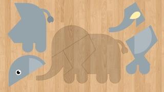 لعبة تركيب صور الحيوانات للأطفال اصوات و اسماءلقطة شاشة2