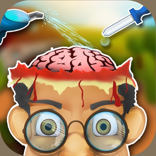 Brain Doctor on Mad Farm - Care & Treat Crazy Little Patients In Your Dr Hospital iOS App