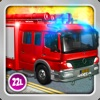 Kids Vehicles 1: Interactive Fire Truck - 3D Games for Little Firefighters and Drivers of Firetrucks by Abby Monkey®