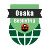 Osaka travel guide and offline city map,  Beetletrip Metro JR Train and Walks